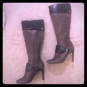 Nine West Tubbs Over the Knee Heeled Boots NWOT